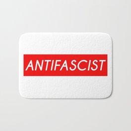 Antifascist (red background) Bath Mat