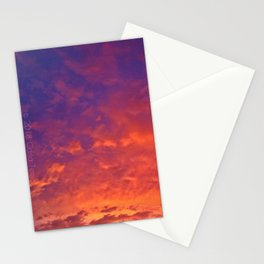 Sunset In Florida Stationery Cards