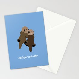 Made For Each Otter Stationery Cards