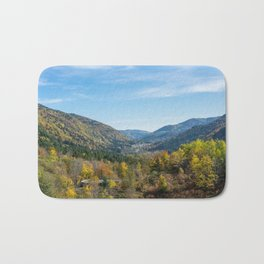 Colorful French valley Bath Mat