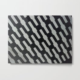 Chain link Metal Print