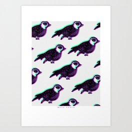 Migración Art Print