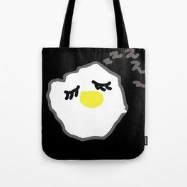 sleepy egg Tote Bag
