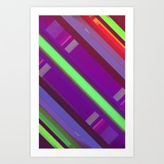 Doubles Art Print