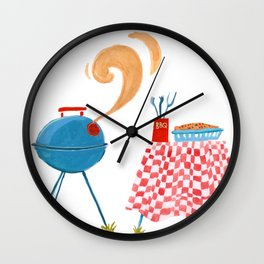 Southern Hygge: Barbecue Wall Clock