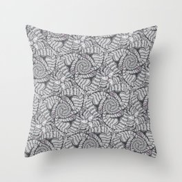 Aloof, a Cat Tessellation Throw Pillow