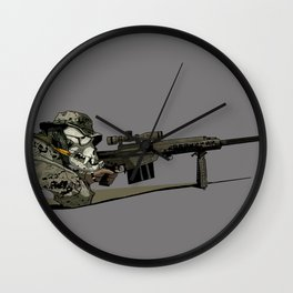 Teufelhund Wall Clock