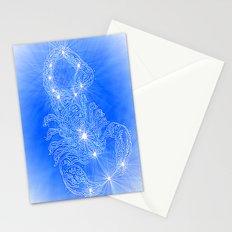 Scorpio, constellation series Stationery Cards