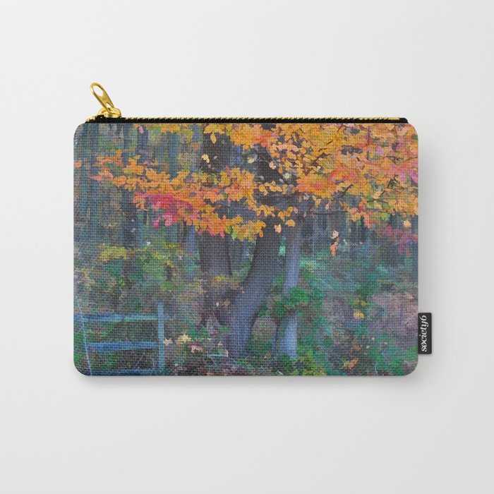 Autumn Trail at Lums Carry-All Pouch