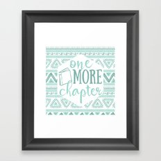 One More Chapter - Tribal  Framed Art Print