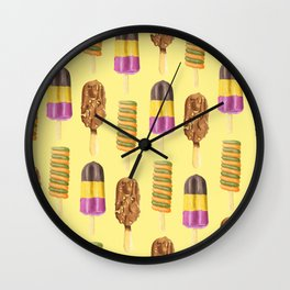 Retro Pops Wall Clock