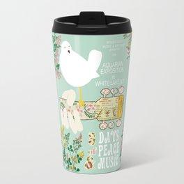 Woodstock Birdie Collage Print Travel Mug