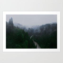 Bavarian Fog Art Print