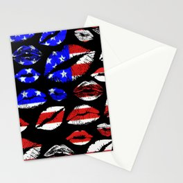 Kiss The Flag Stationery Cards