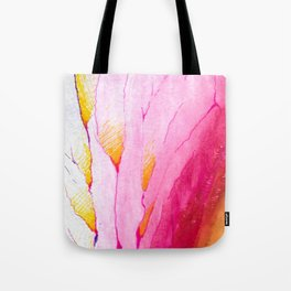 Feathered, Watercolor and Ink Tote Bag