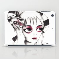 lydia martin iPad Cases featuring Lydia Deetz by Laura Pastor