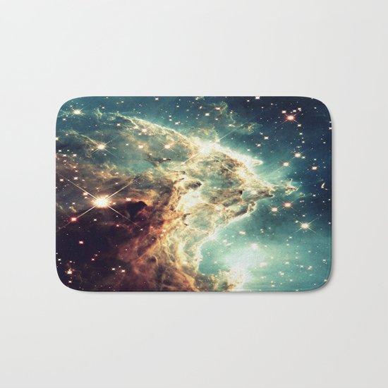 Monkey Head Nebula. Dreamy Bath Mat