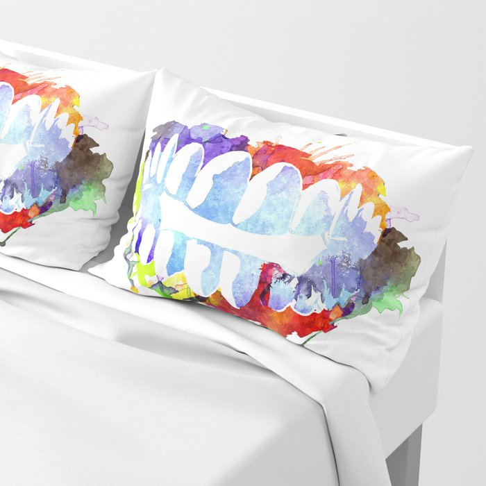 Teeth Pillow Sham