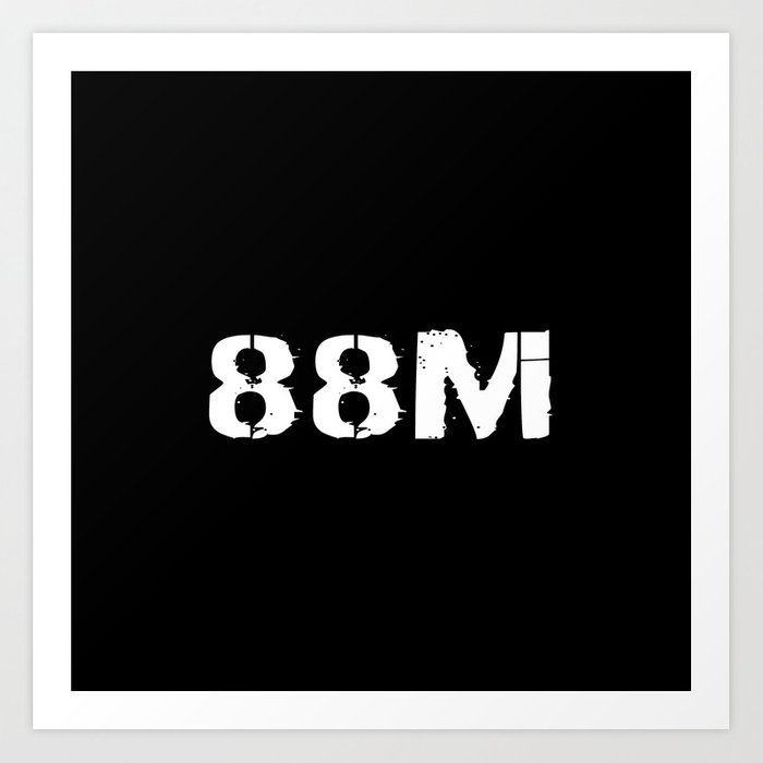 88M Motor Transport Operator Art Print
