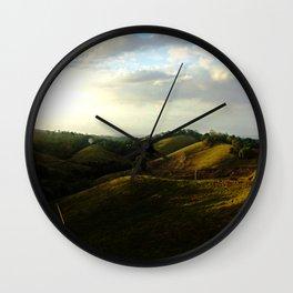 Beauty of Nature 2 @ Rincon Wall Clock