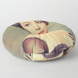 Sara Montiel, Vintage Actress Floor Pillow