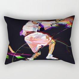Philadelphia Sports Icon #3 Basketball Player Poster Rectangular Pillow