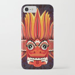 Sri Lankan Fire Demon iPhone Case