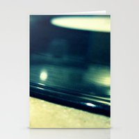 record Stationery Cards featuring Record by Derek Fleener