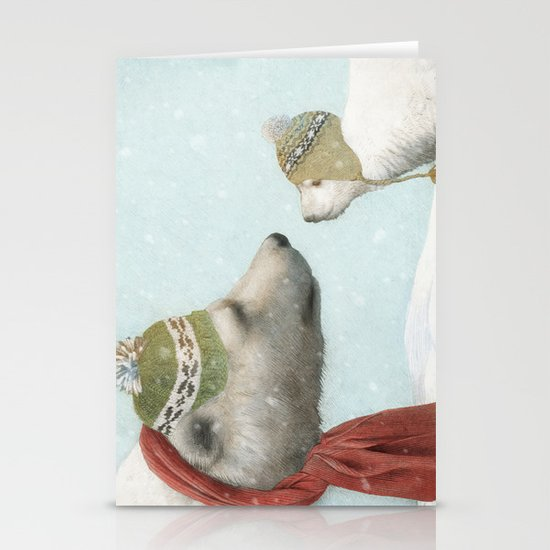 First Winter Stationery Cards