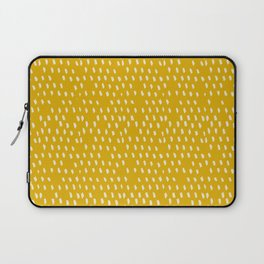 Yellow Modernist Laptop Sleeve