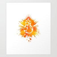 rorsquash Art Print