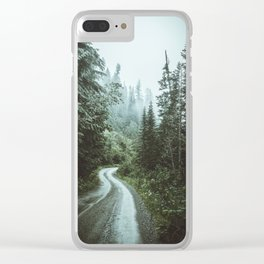 Moody Drives Clear iPhone Case