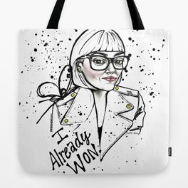 #STUKGIRL ASHLEY Tote Bag