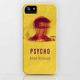PSYCO - Hitchcok Poster iPhone Case