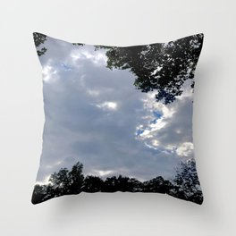 A Glimpse of The Sky Throw Pillow