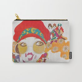 She's One Groovy Chick Carry-All Pouch