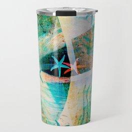 starfish decor ##### Travel Mug