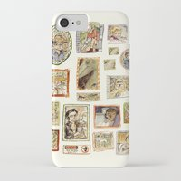jurassic park iPhone & iPod Cases featuring Jurassic Park Portrait Wall by Beastlyworlds