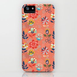 Pretty Floral iPhone Case