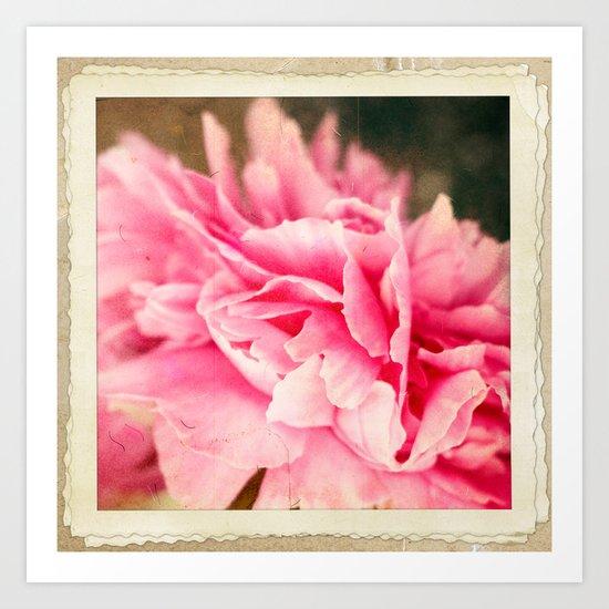 Pink crush Art Print