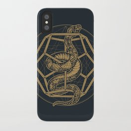 SACRED SERPENT iPhone Case