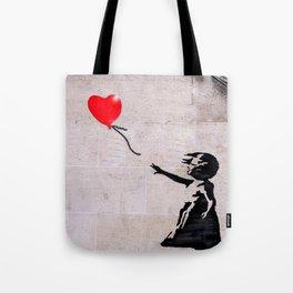 Banksy, Hope Tote Bag