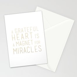 GRATEFUL HEART Stationery Cards