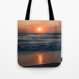Canaveral Seashore Sunrise Tote Bag