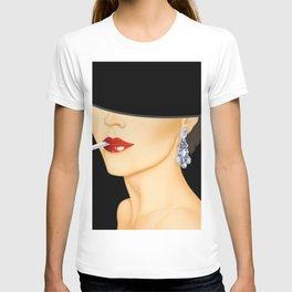 Chic Fashion Lady T-shirt