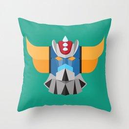 Grendizer - Ufo Robot Throw Pillow