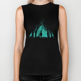 It's Dangerous To Go Alone Biker Tank