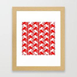 "Koloman (Kolo) Moser ""Textile pattern (Birds)"" (3) Framed Art Print"