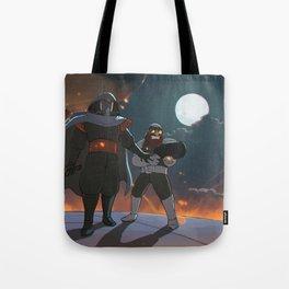 Darth Ghibli's Arrival Tote Bag