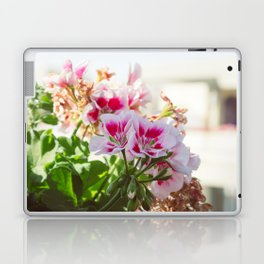 Pink and Red Flowers Laptop & iPad Skin